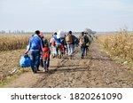 Border between serbia and...