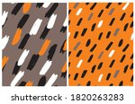 cute abstract geometric... | Shutterstock .eps vector #1820263283