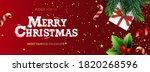 happy new year banner  xmas... | Shutterstock .eps vector #1820268596