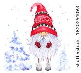 Scandinavian Christmas Gnome...