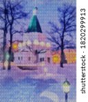 Illustration. Cross Stitch. New ...