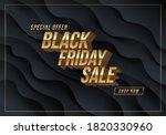 black friday sale design.... | Shutterstock .eps vector #1820330960
