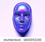 abstract 3d render illustration ...   Shutterstock . vector #1820352230