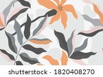 seamless pattern with abstract... | Shutterstock .eps vector #1820408270