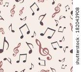 vector seamless pattern of... | Shutterstock .eps vector #182043908