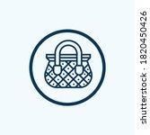 shopping cart icon. shopping... | Shutterstock .eps vector #1820450426