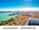 Aerial View Of Venice City...