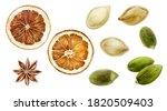 Pumpkin Seeds Dried Orange...