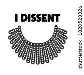 I Dissent Concept On White....