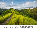 stone road on the top of the... | Shutterstock . vector #182054294