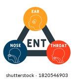 ent   ear nose throat acronym ... | Shutterstock .eps vector #1820546903