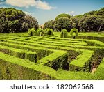 Park Labyrinth In Barcelona....