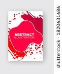 modern abstract vector banners. ... | Shutterstock .eps vector #1820631686