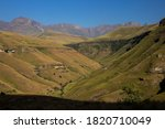 View Over The A Valley In The...