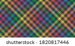 rainbow lgbt flag colors on...   Shutterstock .eps vector #1820817446