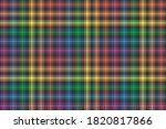 rainbow lgbt flag colors on...   Shutterstock .eps vector #1820817866