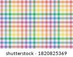 rainbow lgbt flag colors on...   Shutterstock .eps vector #1820825369