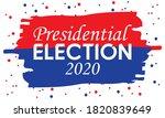 united states of america...   Shutterstock .eps vector #1820839649