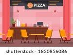 food court indoor interior...   Shutterstock .eps vector #1820856086
