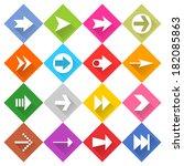 16 arrow icon set 02
