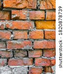 The Texture Of An Old Wall Of...