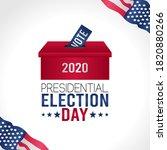 2020 united states of america...   Shutterstock .eps vector #1820880266