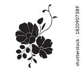 botanical illustration. flower...   Shutterstock .eps vector #1820907389