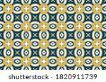 seamless pattern with... | Shutterstock .eps vector #1820911739