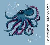 Octopus Vector Illustration...