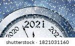 new year's eve 2021. vector... | Shutterstock .eps vector #1821031160