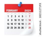 February 2021   Calendar....