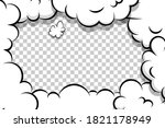 comic book cartoon speech...   Shutterstock .eps vector #1821178949