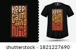 keep calm and humble trendy... | Shutterstock .eps vector #1821227690