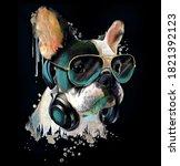 French Bulldog Watercolor...