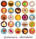 food and drinks flat design... | Shutterstock .eps vector #182148494