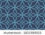 ornament baroque seamless... | Shutterstock .eps vector #1821585023