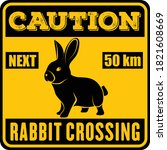 Road Sign   Attention Animal ...