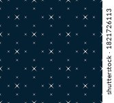 raster minimalist seamless... | Shutterstock . vector #1821726113