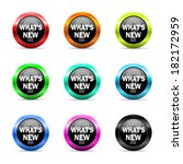 web buttons set on white... | Shutterstock . vector #182172959