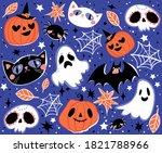 vector seamless pattern for... | Shutterstock .eps vector #1821788966