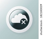 close cloud wrong icon