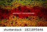 abstract background consisting ... | Shutterstock .eps vector #1821895646