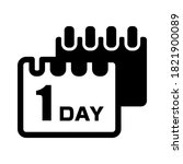 1 day to go. 1 day delivery...   Shutterstock .eps vector #1821900089