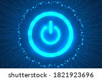 cyber security and threat... | Shutterstock .eps vector #1821923696