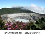 Costa Rica Volcano Poas