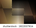 abstract halftone lines gold... | Shutterstock .eps vector #1822037816