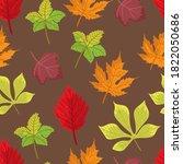 Seamless Background  Autumn...
