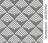 vector seamless pattern. modern ... | Shutterstock .eps vector #182207093