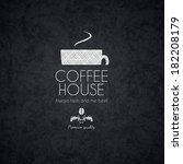 menu for restaurant  cafe  bar  ... | Shutterstock .eps vector #182208179