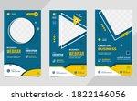 set of minimalist social media... | Shutterstock .eps vector #1822146056